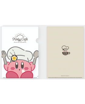 Kirby Cafe Tokyo Chef Kirby Clear File