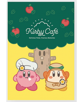 Kirby Cafe Tokyo Whispy Willow Postcard