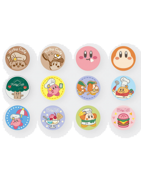 Kirby Cafe Tokyo Fabric Badge Vol. 3 BLIND PACKS