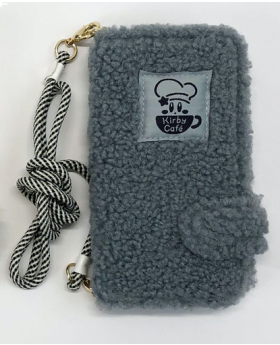 Kirby Cafe Tokyo Fluffy iPhone 6/7/8 Case Grey