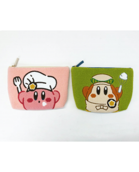 Kirby Cafe Tokyo Fluffy Small Pouch