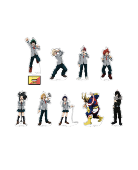 Boku No Hero Academia Karaoke Tetsujin Collaboration Goods Acrylic Stands