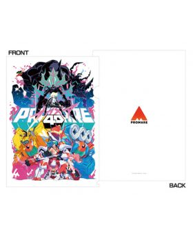 PROMARE XFlag Store Limited Edition 4D Design Clear File