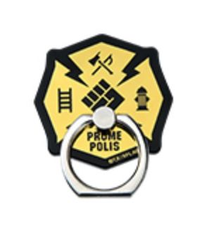 PROMARE XFlag Store Limited Edition Acrylic Smartphone Ring Burning Rescue