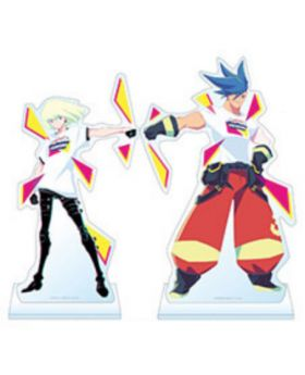 PROMARE LIVE INFERNO Limited Edition Goods Large Acrylic Stands