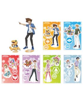 Digimon Adventure Last Evolution Bonds Ani-On Cafe Goods Acrylic Stand