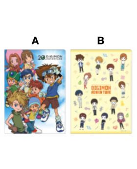 Digimon Adventure Tokyu Hands LAST EVOLUTION Goods Clear File