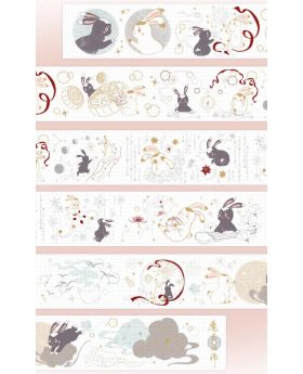 Mo Dao Zu Shi KAZE Official Washi Tape Bunny Design C