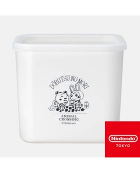 Animal Crossing Nintendo Store Limited Goods Bunny and Filbert Container