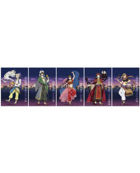 Bungou Stray Dogs Wakudoki Arabian Nights Kuji INDIVIDUALS Tapestry