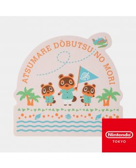 Animal Crossing Nintendo Store Limited Goods New Horizons Sticker B
