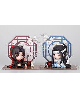 Mo Dao Zu Shi Chao Chang Di Official Goods Chibi Figurine Wei Wuxian and Lan Wangji Set