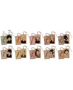 Boku No Hero Academia Namco Pop-Up Store Goods Wooden Straps