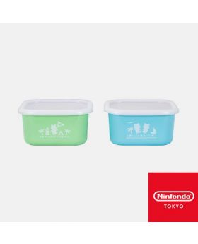Animal Crossing Nintendo Store Limited Goods New Horizons Plastic Container Set