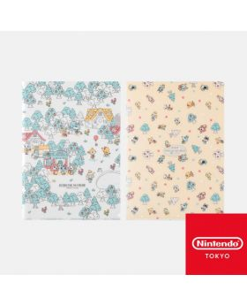 Animal Crossing Nintendo Store Limited Goods Clear File Set