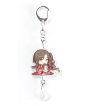 Heaven Official's Blessing Mini Doll Acrylic Chibi Keychain Hua Cheng A