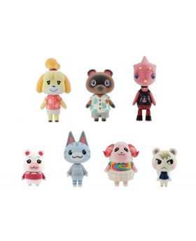 Animal Crossing New Horizons Tomodachi Doll Mini Figurines with Candy Set