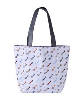 Kingdom Hearts Melody Of Memory Cafe Tote Bag Keyblade A