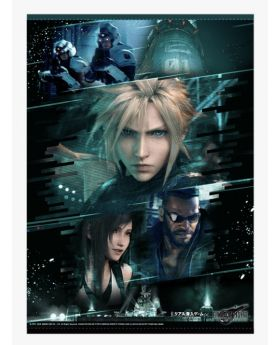 Final Fantasy VII Remake REAL Escape Room Goods Tapestry