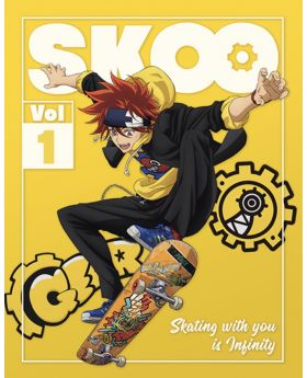 SK8 the Infinity Aniplex+ Limited Edition DVD Volume 1-3 Bundle Set