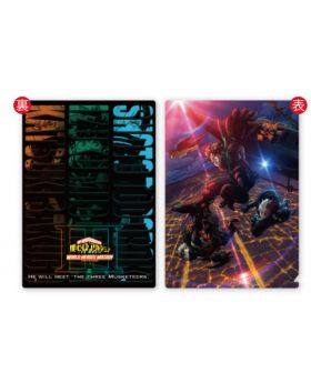 Boku No Hero Academia WORLD HEROES MISSION Movie Goods 3D Clear File