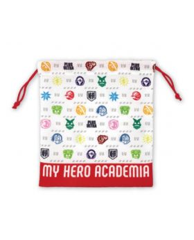Boku No Hero Academia WORLD HEROES MISSION Movie Goods Drawstring Pouch