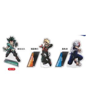 Boku No Hero Academia WORLD HEROES MISSION Movie Goods Poster Acrylic Stand