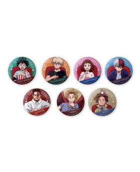 Boku No Hero Academia WORLD HEROES MISSION Movie Goods Can Badges A BLIND PACKS