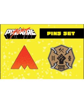 PROMARE Chara Shop Marui Limited Edition Goods Pin Set
