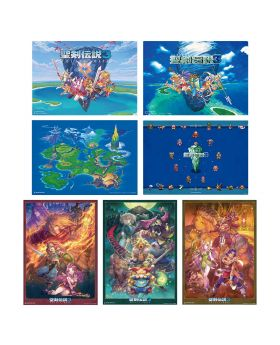 Trials of Mana Square Enix Cafe Goods Placemat BLIND PACKS