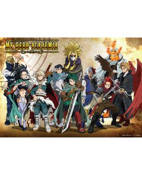 Boku No Hero Academia Anime Japan 2021 Toho Animation Fantasy Goods Poster