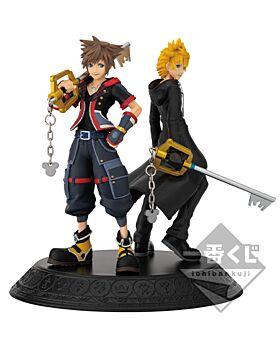 Ichiban Kuji Kingdom Hearts Second Memory Kuji Game INDIVIDUALS Sora and Roxas Figurine