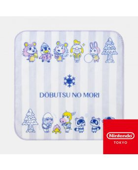 Animal Crossing Nintendo Store Limited Goods Hand Towel Winter Ver. Lavender