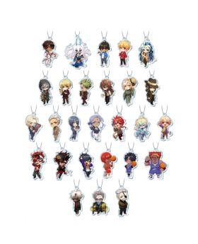 Fate/Grand Order Chaldea Boys Cafe Acrylic Keychain BLIND PACKS