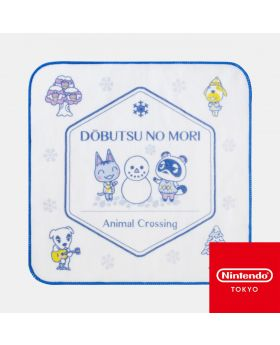 Animal Crossing Nintendo Store Limited Goods Hand Towel Winter Ver. White