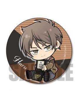 Fugou Keiji Balance UNLIMITED Gyugyutto Series Can Badge Kato Haru