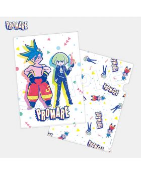 PROMARE Aniplex+ F*Kaori Designed Limited Edition Goods Clear File SECOND RESERVATION
