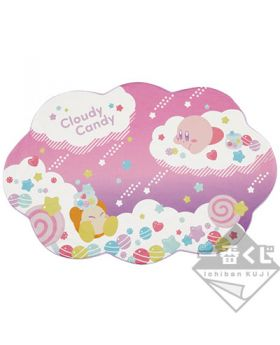Ichiban Kuji Kirby Cloudy Candy Kirby On Cloud Blanket INDIVIDUALS