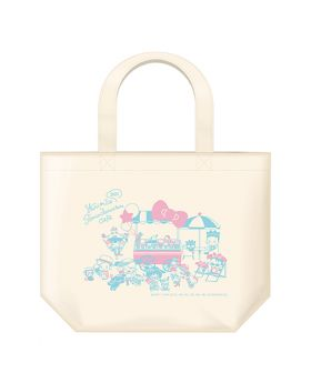 Yuri On Ice Sanrio Characters Cafe 2020 Goods Lunch Tote Bag