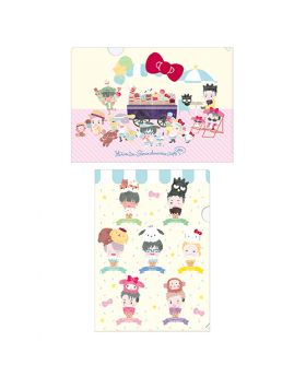 Yuri On Ice Sanrio Characters Cafe 2020 Goods Clear File Set