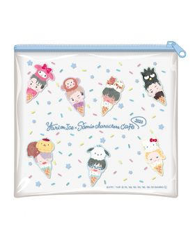 Yuri On Ice Sanrio Characters Cafe 2020 Goods Vinyl Pouch