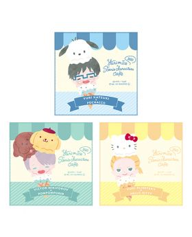 Yuri On Ice Sanrio Characters Cafe 2020 Goods Mini Towels