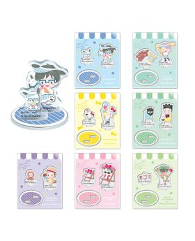Yuri On Ice Sanrio Characters Cafe 2020 Goods Acrylic Stands