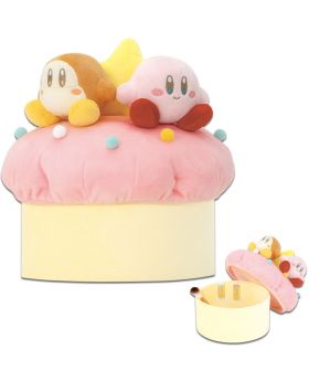 Ichiban Kuji Kirby A Sweet Moment INDIVIDUALS Rare Prize Cupcake Plush Container
