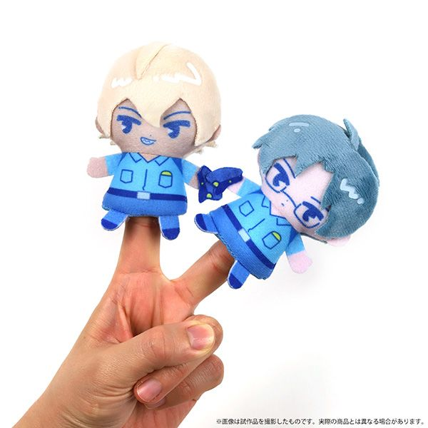Sarazanmai Reo Mabu Sara Nesoberi Mascot Plush doll Set of 3 SEGA 2019 GIFT