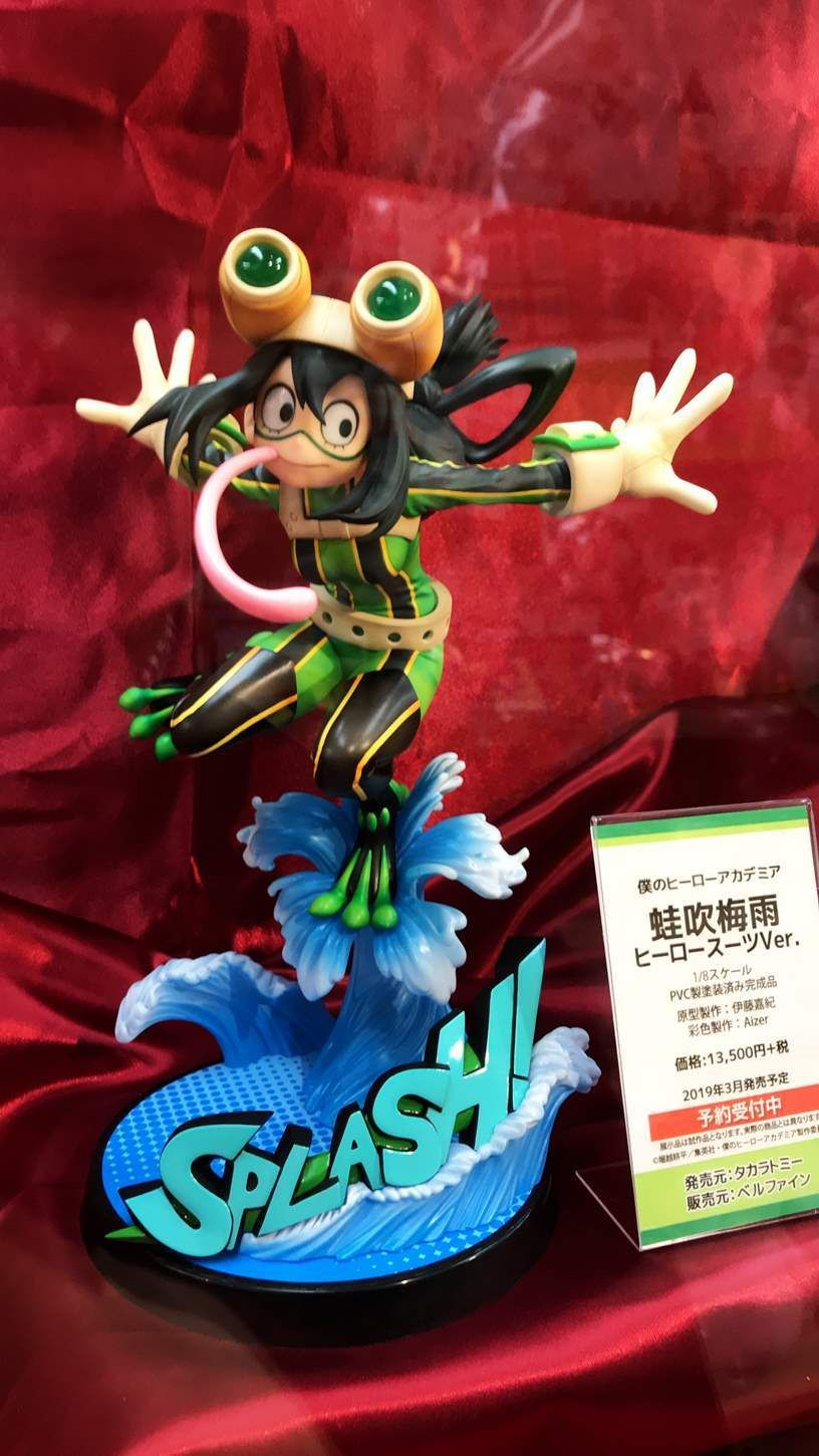 1//8 Scale PVC NEW Figure from JAPAN My Hero Accademia ASUI TSUYU Hero Suit Ver