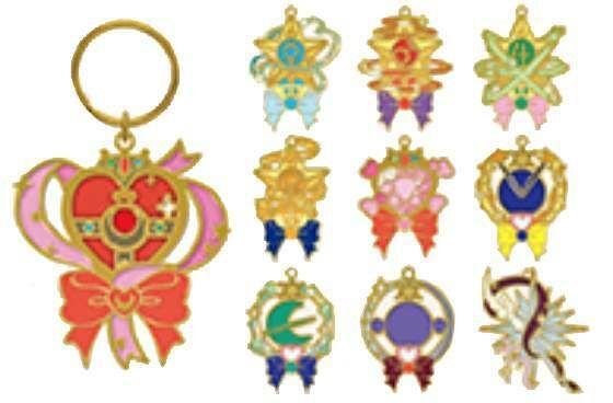 Aitai Kuji Ichiban Kuji Sailor Moon Girl S Transformation Collection Kuji Prize Stained Glass Charms