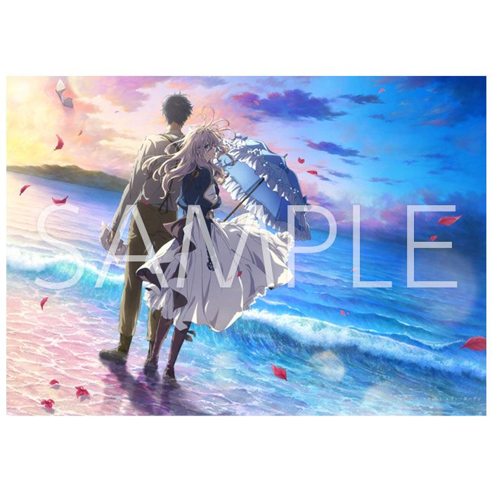 Type A Violet Evergarden:The Movie-Kyoto Animation Official Goods-Art Poster
