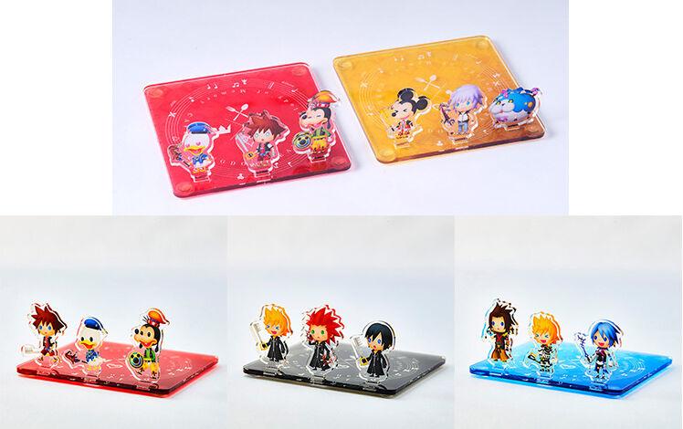 Kingdom Hearts Melody Of Memory Cafe Acrylic Coaster